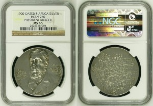 1900 Paul Kruger by Scharff - Silver